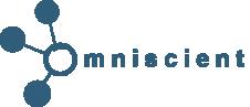 Logo d'Omniscient qui sera présent au village start-up sur le salon construction days