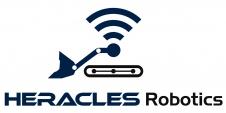 Logo avec nom d'Heracles Robotics qui sera présent au village start-up sur le salon construction days